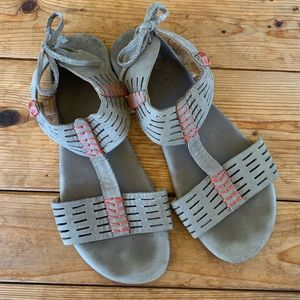 Anthropologie Fiel leather sandals - 9